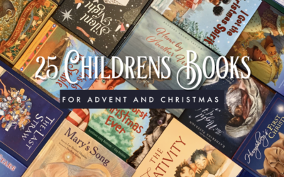 25 Childrens Books for Advent and Christmas