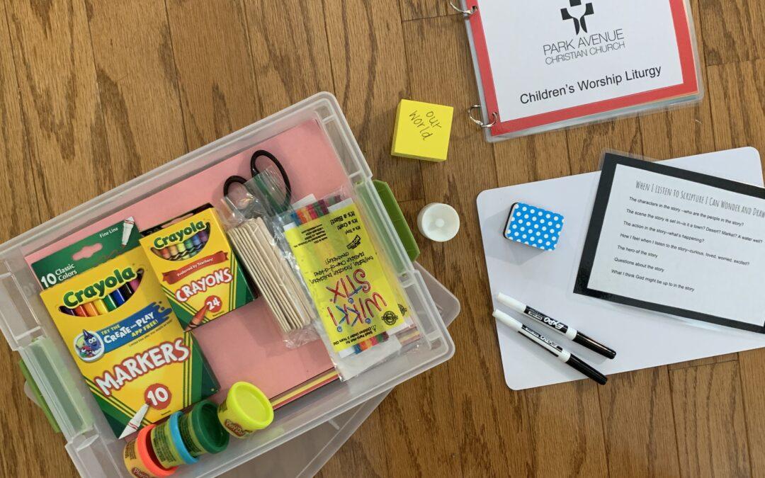 Worship Boxes for Digital Children's Worship